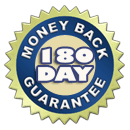 Backed by full money back guarantee