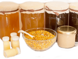 natural bee pollen granules as a superfood