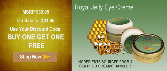 royal jelly eye creme