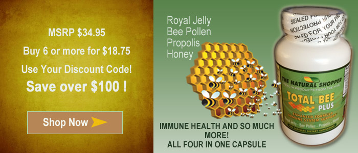 Total Bee Plus with Royal Jelly - on sale coupon