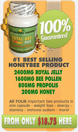 Total Bee Plus - all four bee products in one capsule