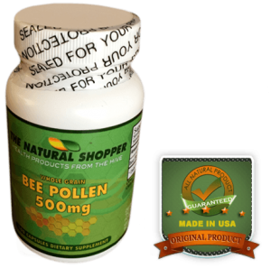 bee pollen capsules whole grain