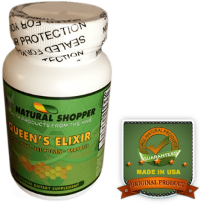 queens elixir with royal jelly, bee pollen and propolis