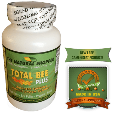 The original Total Bee Plus with royal jelly, bee pollen, propolis and honey