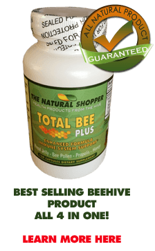 Contains Royal Jelly - Bee Pollen - Propolis - Honey all 4 in Total Bee Plus