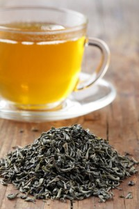 green tea is high in antioxidants and used for weight loss