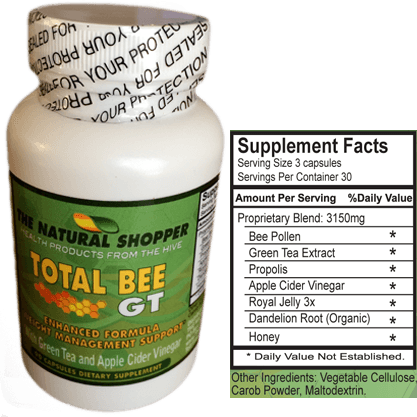 Total Bee Plus with bee pollen for natural weight loss