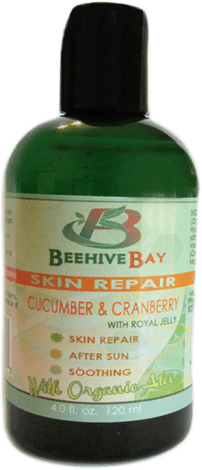 cucumber repair serum with royal jelly