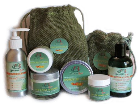 natural skin care gift set