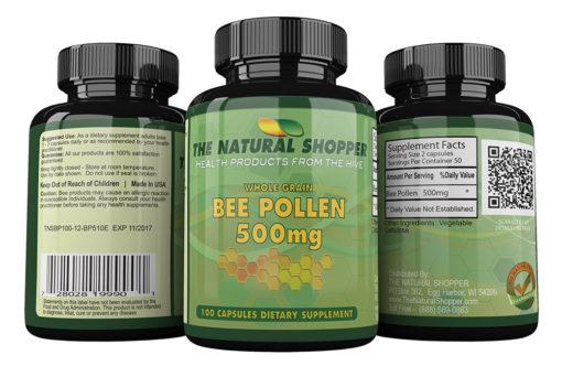 Bee Pollen - wholegrain bee pollen granules