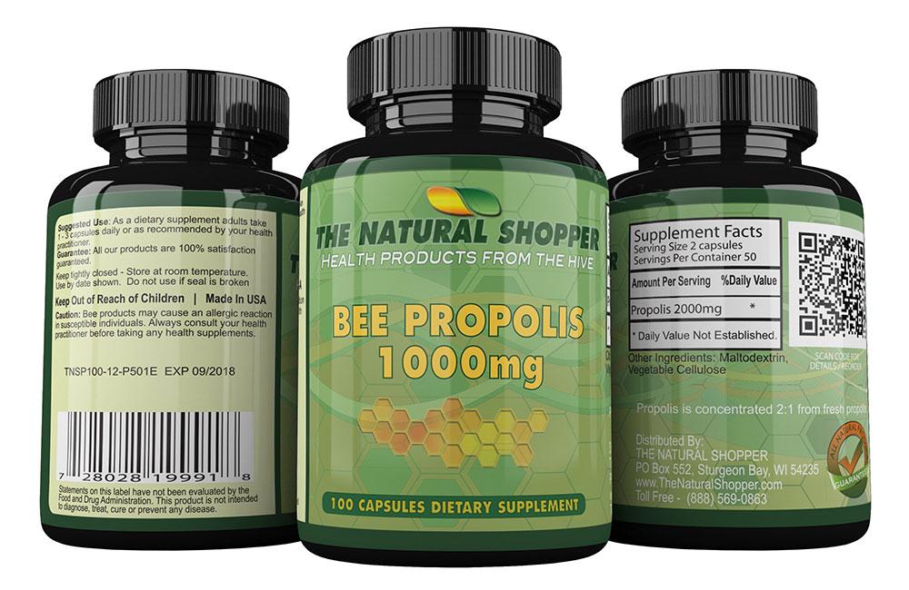 Bee Propolis 1000mg