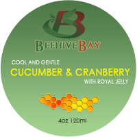 cucumber and cranberry with royal jelly