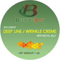 deep line wrinkle creme with royal jelly