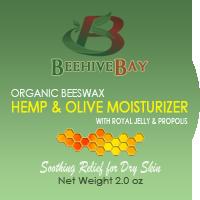 hemp and olive moisturizer with royal jelly