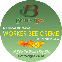 Worker bee cream with beeswax