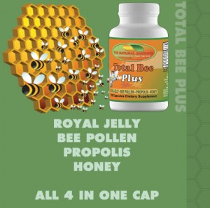 Total Bee Plus, all 4 in one capsule