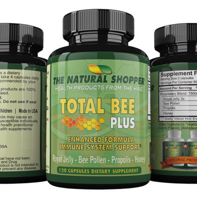 Total Bee Plus with Royal Jelly, Bee Pollen, Propolis and Honey