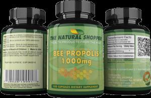 bee propolis capsules 1000mg