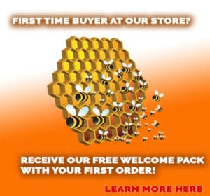 bee products for new customers