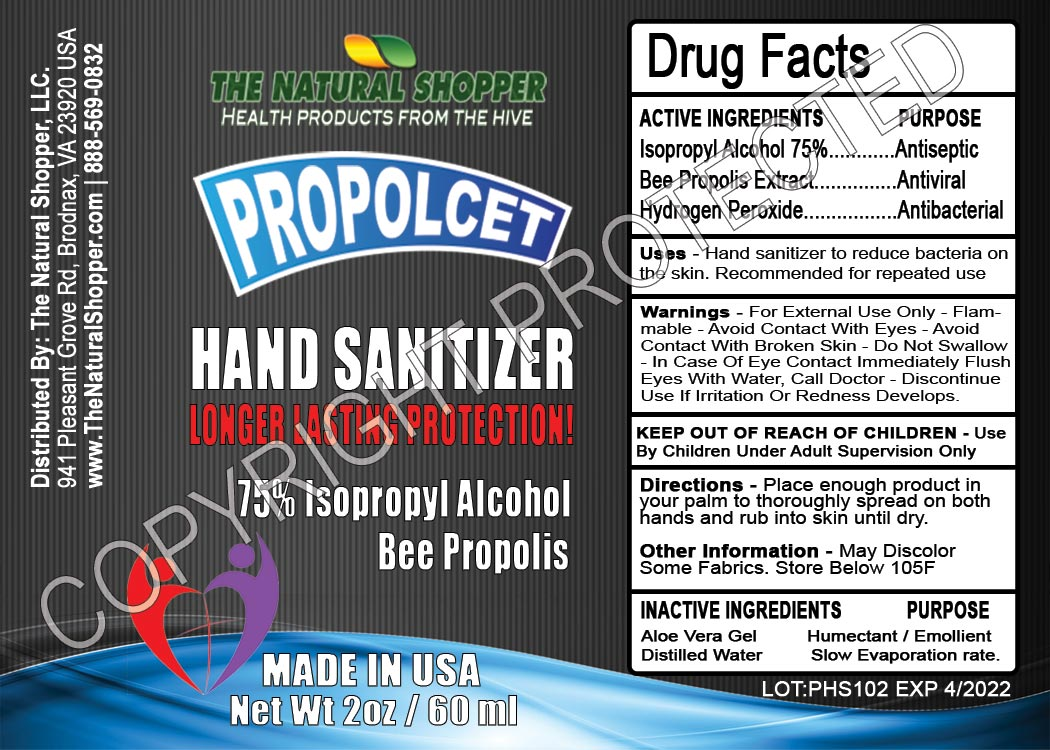 HAND SANITIZER WITH BEE PROPOLIS
